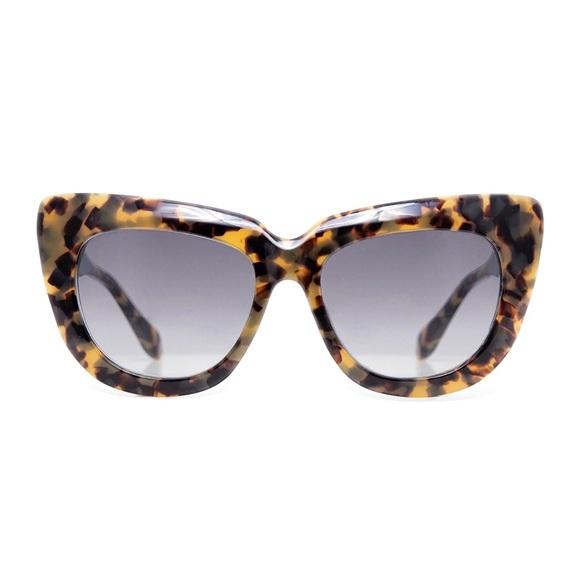 6bdadcf6d10f4 SONIX sunglasses COCO toffee tort cat eye w case. M 5a7a464f8af1c5e71f16d65e
